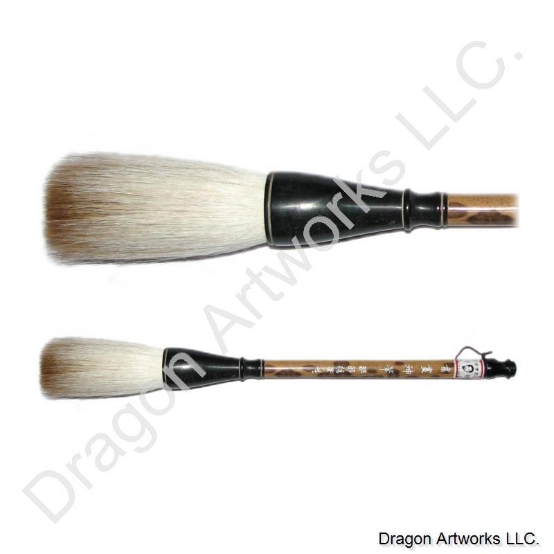 Mixed pony and sheep hair chinese calligraphy brush