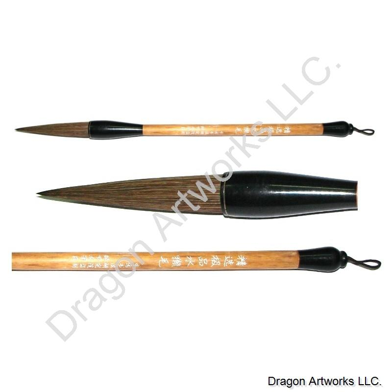 Large cattle hair bristle chinese calligraphy brush
