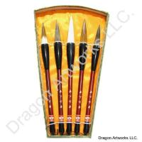 Mixed Hair Set of Chinese Calligraphy Brushes
