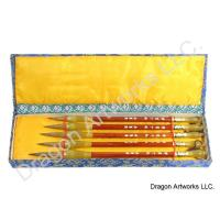 Wolf Hair Bristle Calligraphy Brush Set
